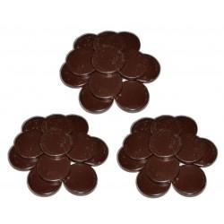 Chocolat - 3 kg Galets cire à épiler