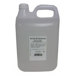 Menthol naturel - Huile de massage adoucissante 5 litres