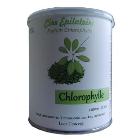 Pot de 800 ml - CHLOROPHYLLE - Cire à épiler