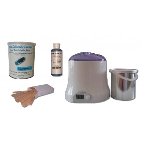 Cid Epil. Kit épilation cire pelable OUTREMER - Pot de 800 ml