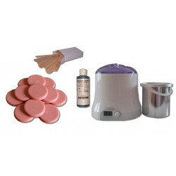 Cid Epil. Kit 800 ml - Cire Traditionnelle 1 kg Galets ROSE