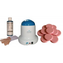 Kit épilation 800 ml - Cire Traditionnelle 1 kg Galets ROSE
