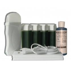 Kit épilation 4 x100 ml - CHLOROPHYLLE - Cire à épiler