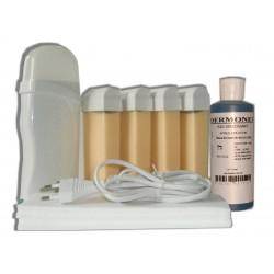 Kit épilation 4 x 100 ml - NACREE - Cire à épiler