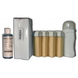 Kit Epil 4 x 100 ml - NACREE - Cire à épiler hypoallergénique