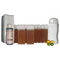 Kit épilation 12 x100 ml - MIEL AGRUMES - Cire à épiler