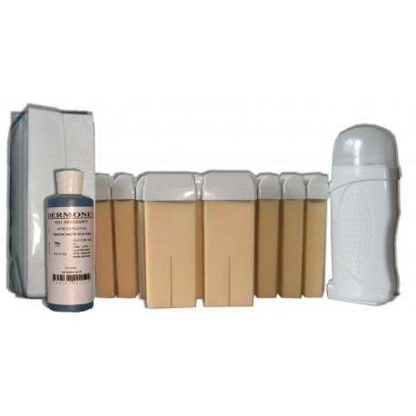 Kit épilation 12 x100 ml - NACREE - Cire à épiler
