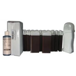 Kit épilation 12 x100 ml - CHOCOLAT - Cire à épiler
