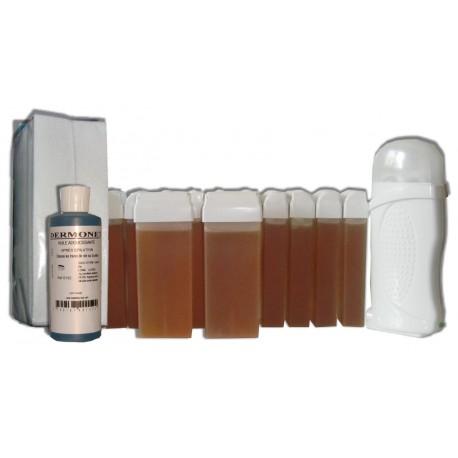 Kit épilation 12 x100 ml - TOPAZ - Cire à épiler