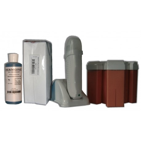 Kit épilation UNO - 6 x100 ml - ROSE - Cire à épiler