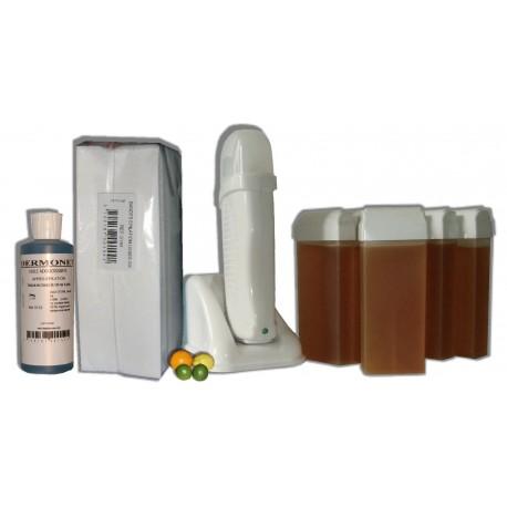 Kit épilation UNO - 6 x 100 ml - MIEL AGRUMES - Cire à épiler