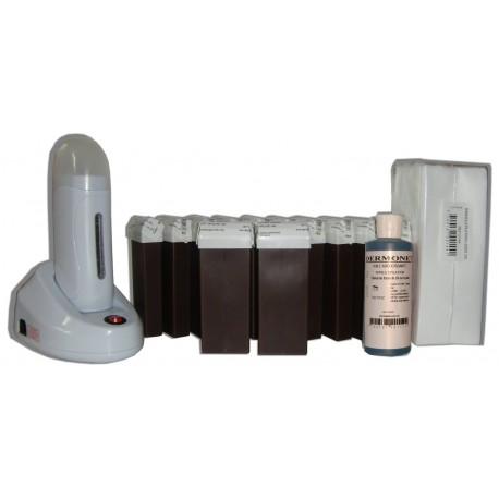 Chocolat - NEO - Kit épilation 12 x 100ml cire Roll On