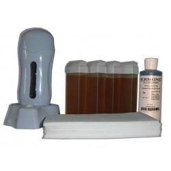 Topaz type miel - SEO - Kit épilation 4 x 100ml