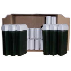 Pack 24 x 100 ml, cire roll on Chlorophylle