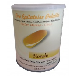 Pot 800 ml cire à épiler Pelable BLONDE