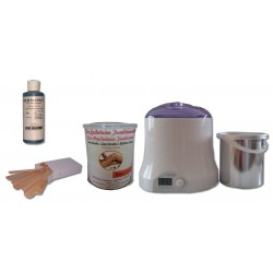 Cid Epil. Kit épilation Pot 800 ml ROSE traditionnelle