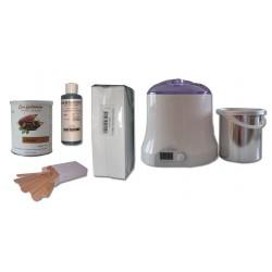 Cid Epil. Kit épilation 800 ml - CHOCOLAT Pot 800 ml Cire jetable