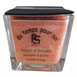 Bougie de massage Canelle - Orange 210 g