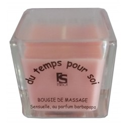 Barbe à papa - 60 g - Bougie de massage