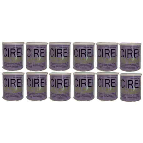 Pack Fushia - 12 Pots cire à épiler 800 ml tiède