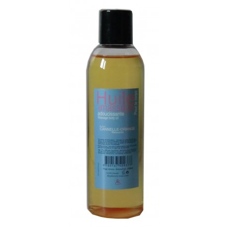 Huile de massage cannelle orange 200 ml