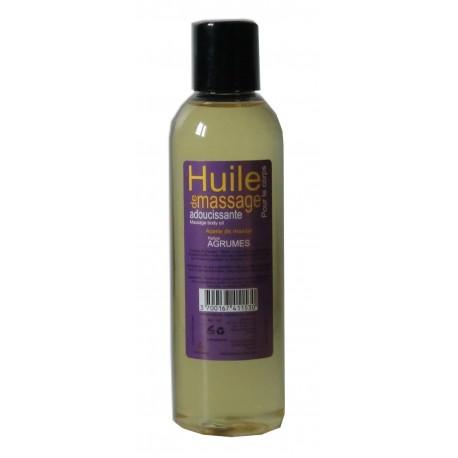 Adoucissante - Agrumes - Huile de massage - 200 ml