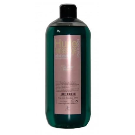 Huile de massage adoucissante Thé vert, 1litre