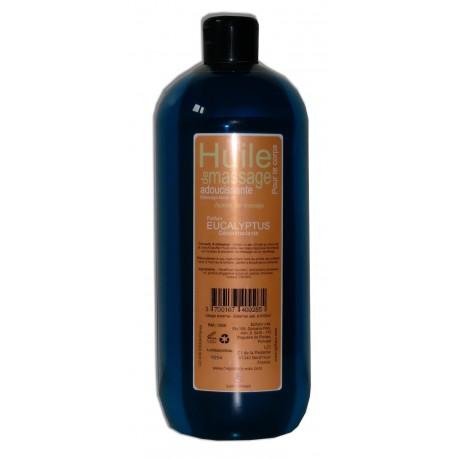 Huile pour massage Eucalyptus, 1 litre