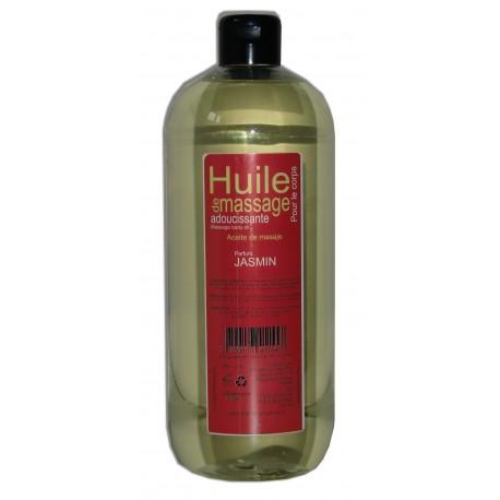 Huile de massage adoucissante jasmin, 1 litre