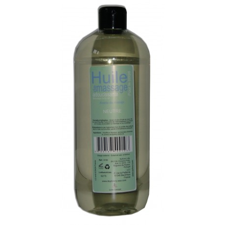 Huile de massage PRO - Neutre - 1 litre