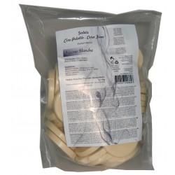 IVOIRE - 1kg Galets de cire à épiler Pelable