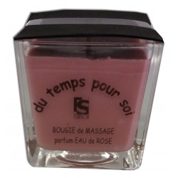 Eau de Rose - 210 g - Bougie de massage - Argan