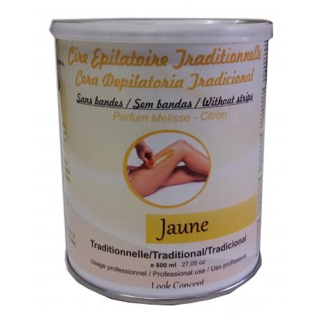 Pot 800 ml - Cire à épiler traditionelle - Jaune