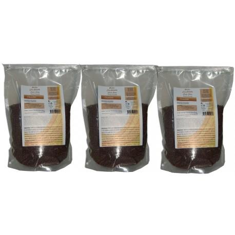 3 kg de cire à épiler pelable au parfum chocolat. Sachets de Perles