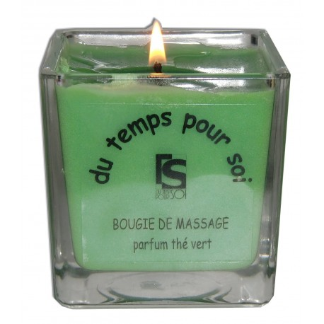 Bougie de massage Thé Vert 210 g