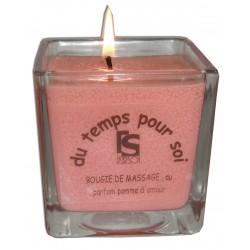 Bougie de massage Pomme d'Amour 210 g