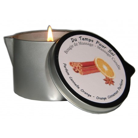 Cannelle Orange 150 g - Bougie de massage