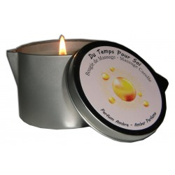 Ambre 150 g - Bougie de massage