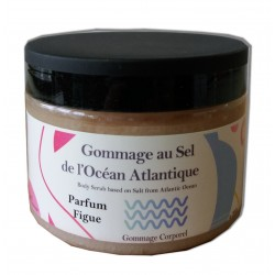 Sel de gommage corps - Figue - 200 g