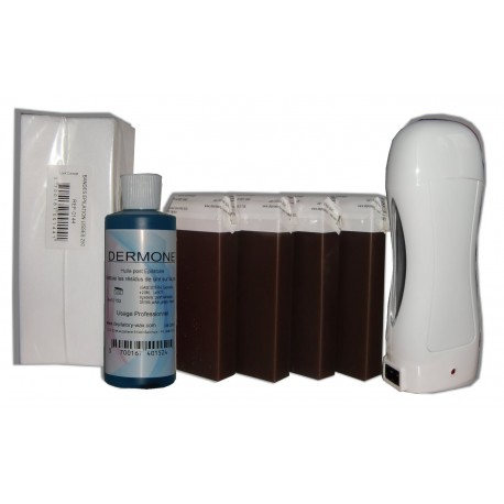 Chocolat - SOLOR - Kit 4 x 100ml - 250 bandes