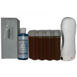 Topaz type miel - SOLOR - Kit 4 x 100ml - 250 bandes