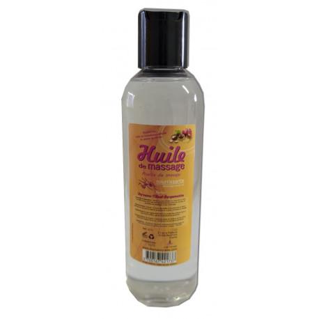 VerveinTilleul-Bergamotte - 200 ml - Huile de massage nourrissante
