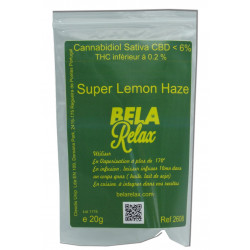 Super Lemon Haze 20g Fleurs de CBD Indoor