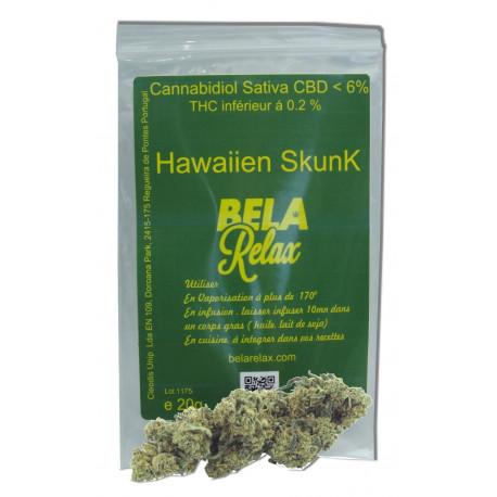 Hawaïen Skunk les Fleurs CBD Relaxantes