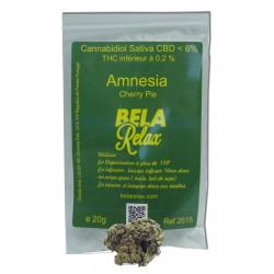 Amnesia des Fleurs CBD cultivées en Indoor