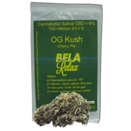 OG Kush le parfum des fleurs cbd du Colorado
