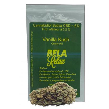 Vanilla Kush, belle têtes Cherry Pie fleurs CBD