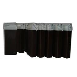 12 recharges 100 ml - CHOCOLAT - Cire à épiler