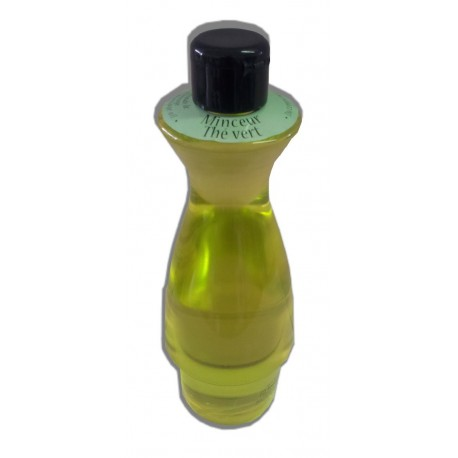 Huile de massage thé vert 500 ml chaude