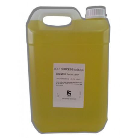 Orientale - Jasmin- Chaude - 5 litres - Huile de massage